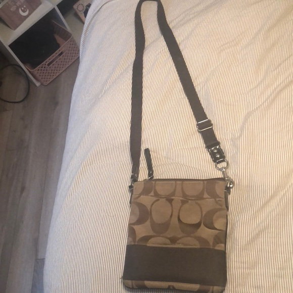 Coach Handbags - Authentic COACH crossbody bag and keychain wallet